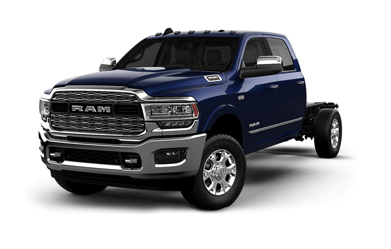 2021 Ram Chassis Cab 3500 Limited - Patriot Blue Pearl