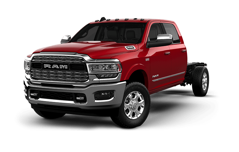 2021 Ram Chassis Cab 3500 Limited - Flame Red