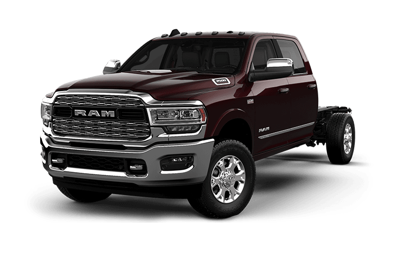 2021 Ram Chassis Cab 3500 Limited - Red Pearl