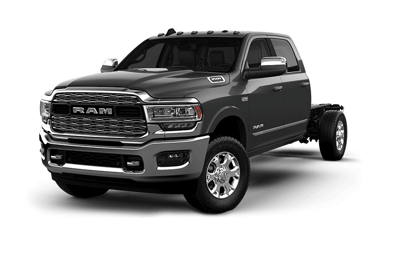 2021 Ram Chassis Cab 3500 Limited - BILLET SILVER METALLIC
