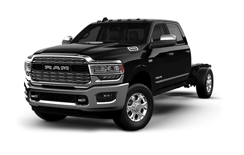 2021 Ram Chassis Cab 3500 Limited - Diamond Black Crystal Pearl