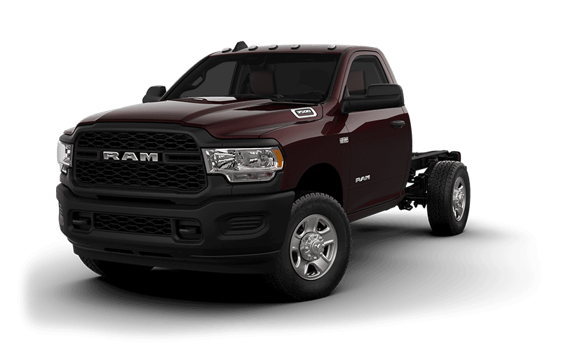 2021 Ram Chassis Cab 3500 Tradesman (9,900 lb GVW) - Red Pearl