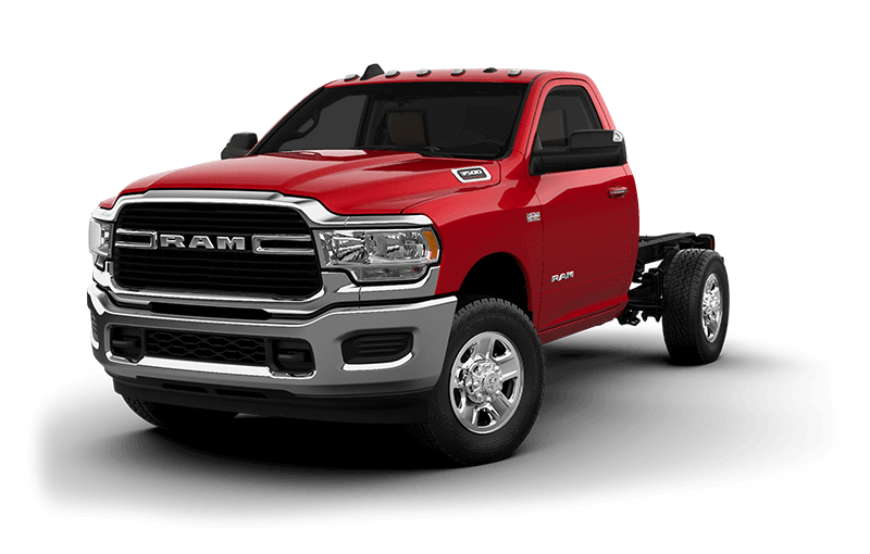 2021 Ram Chassis Cab 3500 SLT (9,900 lb GVW) - Flame Red