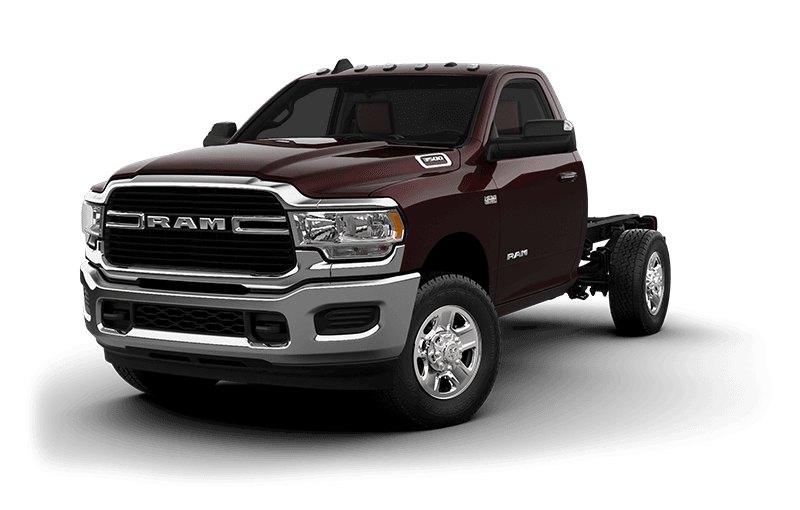 2021 Ram Chassis Cab 3500 SLT (9,900 lb GVW) - Red Pearl