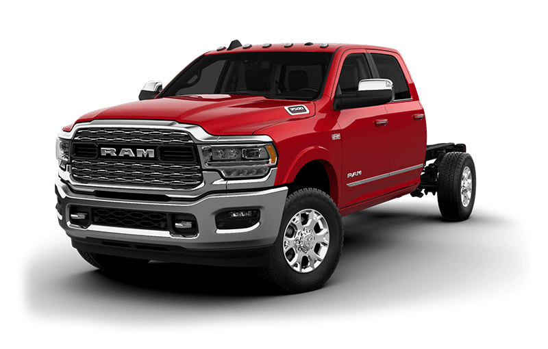 2021 Ram Chassis Cab 3500 Limited (9,900 lb GVWR) - Flame Red