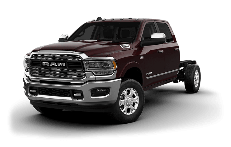 2021 Ram Chassis Cab 3500 Limited (9,900 lb GVWR) - Red Pearl