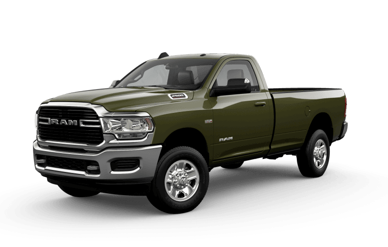 2021 Ram 2500 Big Horn - Olive Green