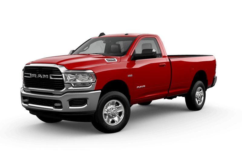 2021 Ram 2500 Big Horn - Flame Red