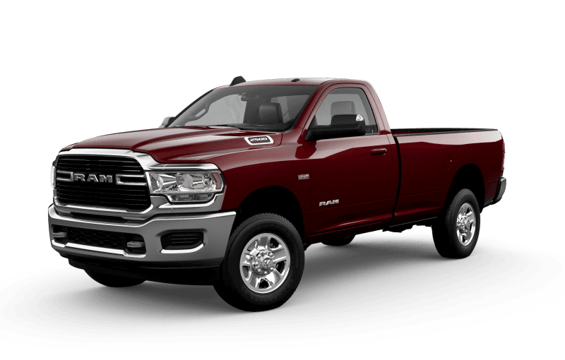 2021 Ram 2500 Big Horn - Red Pearl