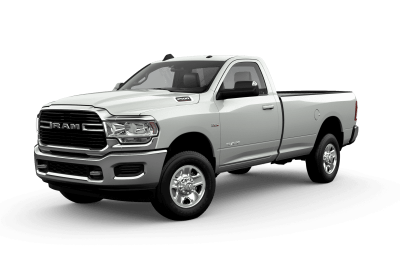 2021 Ram 2500 Big Horn - Bright White