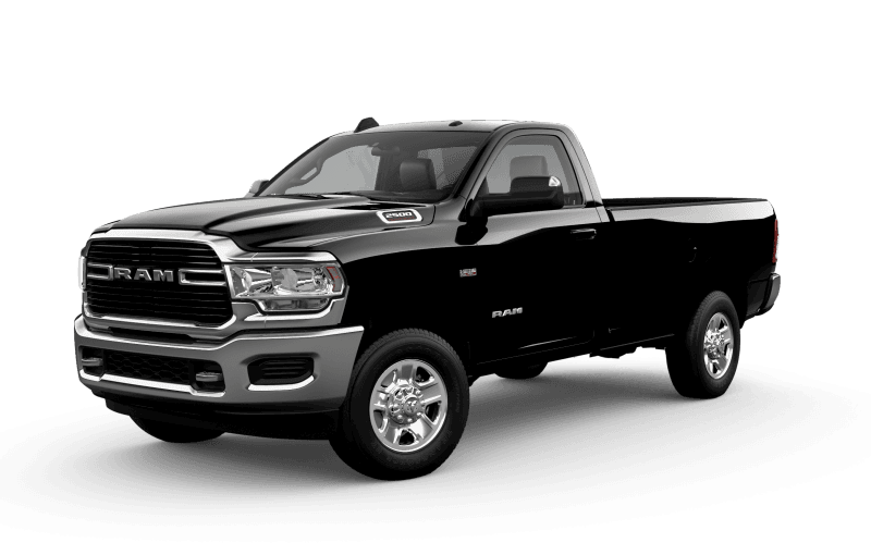 2021 Ram 2500 Big Horn - Diamond Black Crystal Pearl