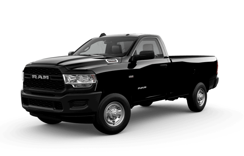 2021 Ram 2500 Tradesman - Diamond Black Crystal Pearl
