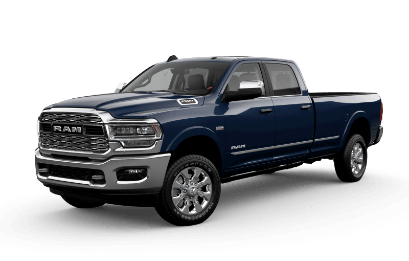 2021 Ram 2500 Limited - Patriot Blue Pearl