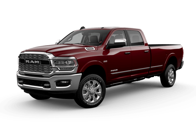 2021 Ram 2500 Limited - Red Pearl