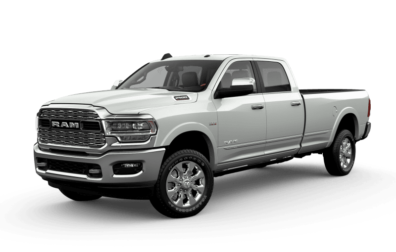 2021 Ram 2500 Limited - Bright White