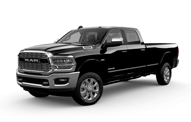 2021 Ram 2500 Limited - Diamond Black Crystal Pearl