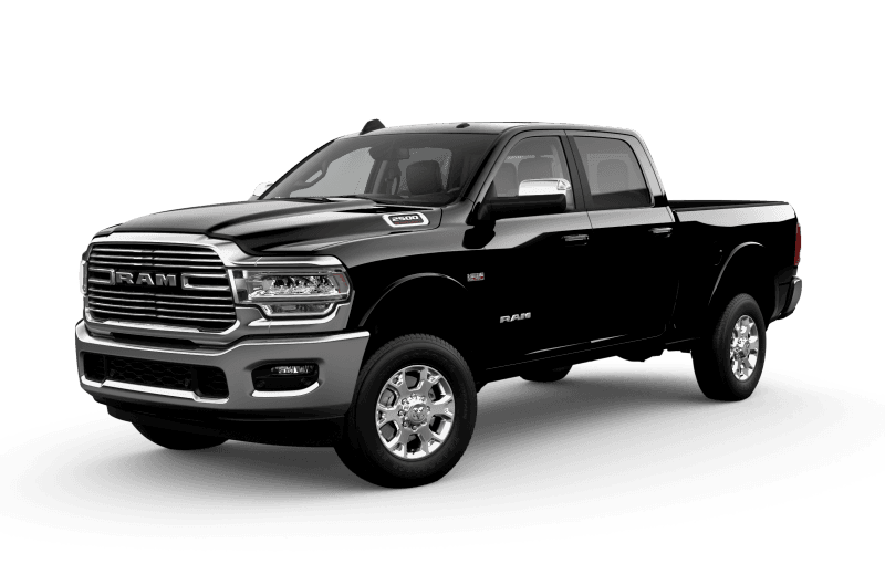 2021 Ram 2500 Laramie - Diamond Black Crystal Pearl