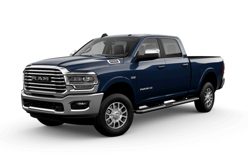 2021 Ram 2500 Limited Longhorn - Patriot Blue Pearl