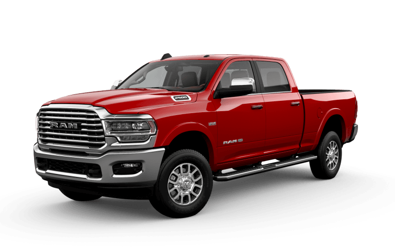 2021 Ram 2500 Limited Longhorn - Flame Red