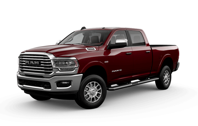 2021 Ram 2500 Limited Longhorn - Red Pearl