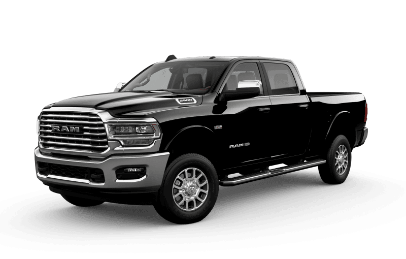 2021 Ram 2500 Limited Longhorn - Diamond Black Crystal Pearl