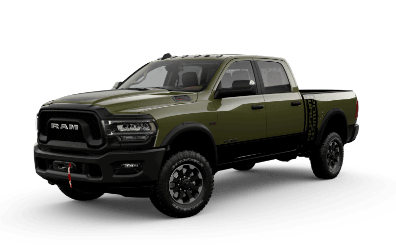 2021 Ram 2500 Power Wagon - Olive Green