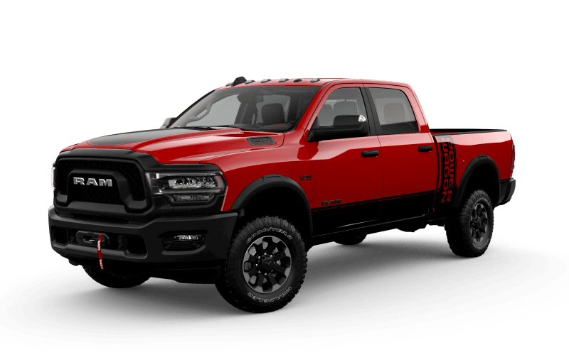 Ram 2500 2021 Power Wagon - Rouge flamboyant
