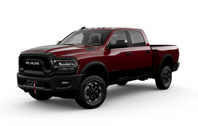 Ram 2500 2021 Power Wagon - Couche nacrée rouge