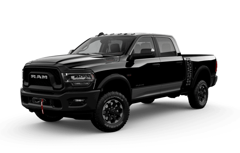 2021 Ram 2500 Power Wagon - Diamond Black Crystal Pearl