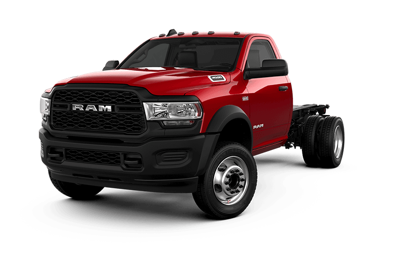 2021 Ram Chassis Cab 4500 Tradesman - Flame Red