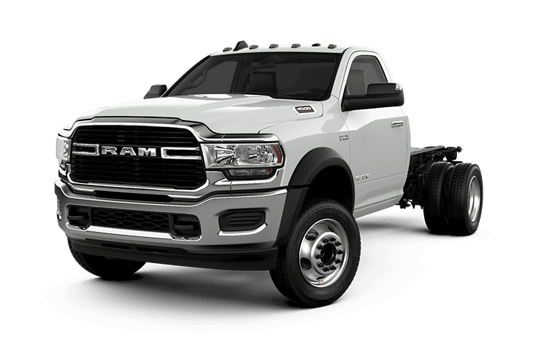 2021 Ram Chassis Cab 4500 SLT - Bright White