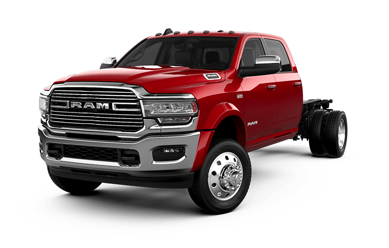 2021 Ram Chassis Cab 4500 Laramie - Flame Red