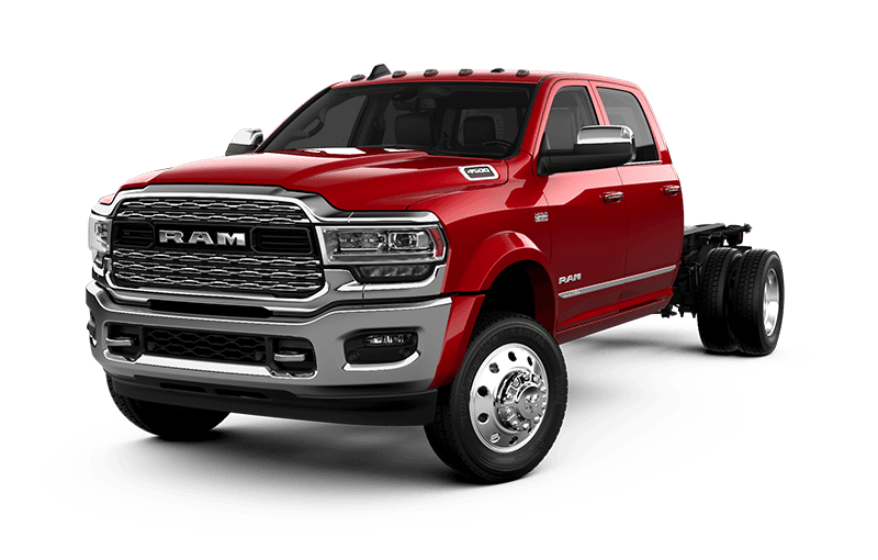 2021 Ram Chassis Cab 4500 Limited - Flame Red