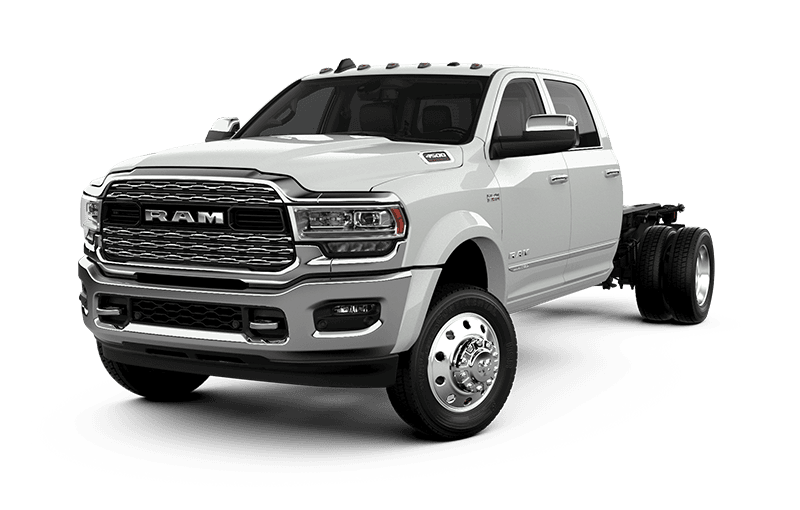 2021 Ram Chassis Cab 4500 Limited - Bright White