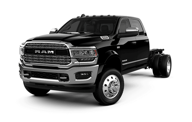 2021 Ram Chassis Cab 4500 Limited - Diamond Black Crystal Pearl