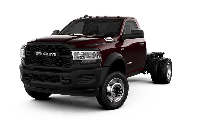 2021 Ram Chassis Cab 5500 Tradesman - Red Pearl