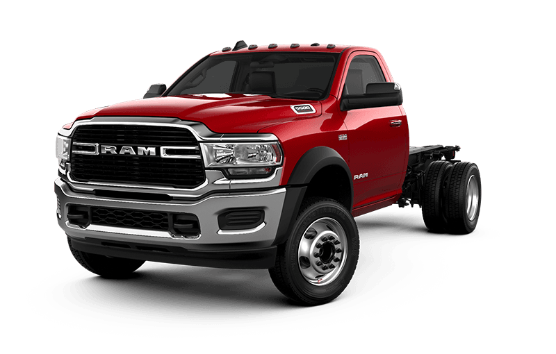 2021 Ram Chassis Cab 5500 SLT - Flame Red