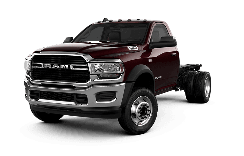 2021 Ram Chassis Cab 5500 SLT - Red Pearl
