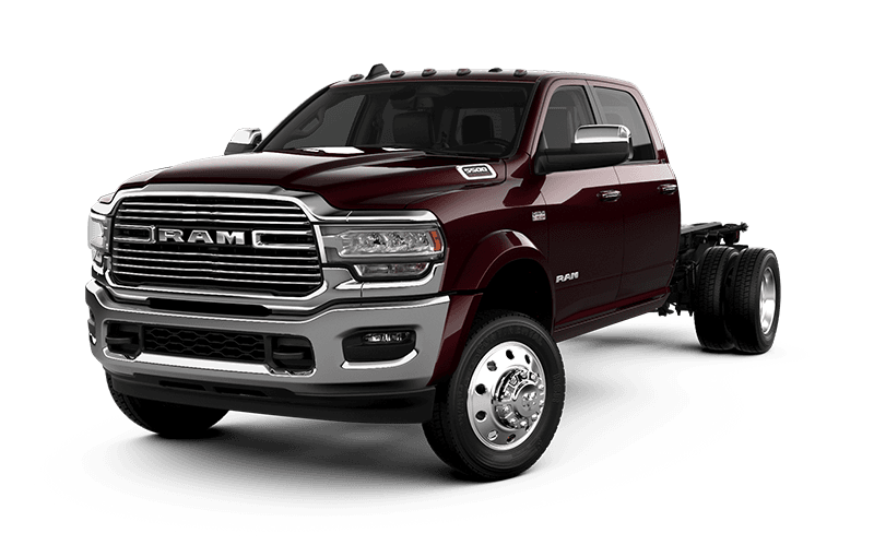 2021 Ram Chassis Cab 5500 Laramie - Red Pearl