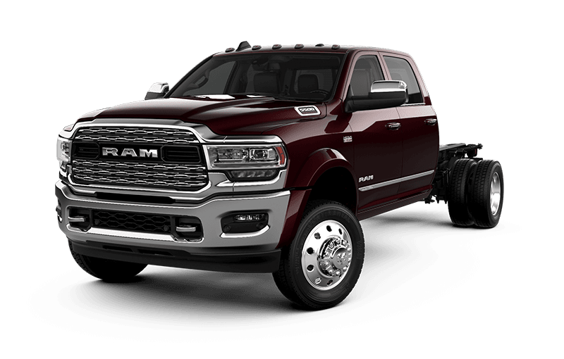 2021 Ram Chassis Cab 5500 Limited - Red Pearl