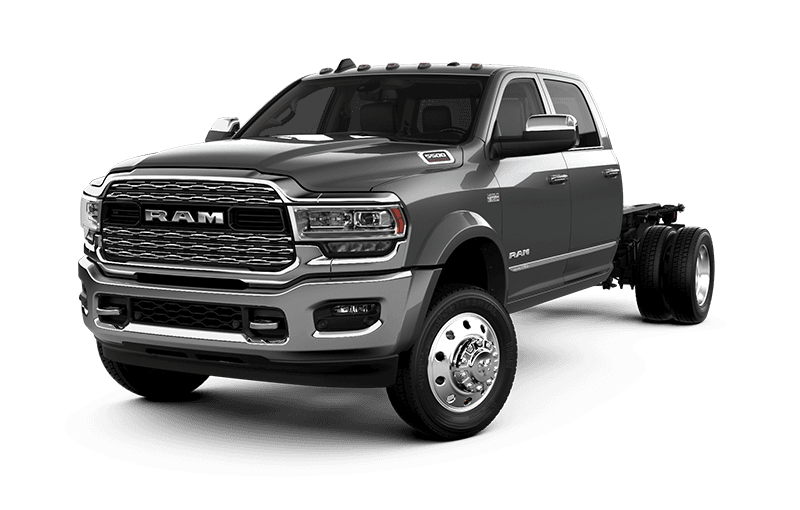 2021 Ram Chassis Cab 5500 Limited - BILLET SILVER METALLIC