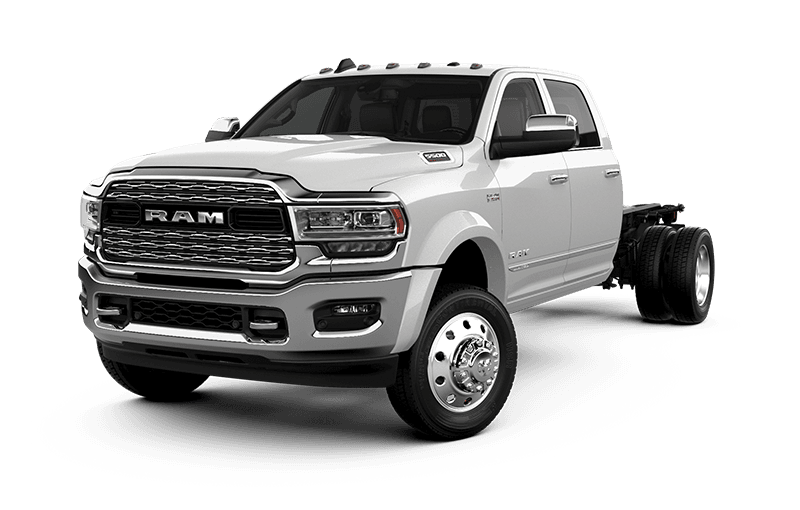 2021 Ram Chassis Cab 5500 Limited - Pearl White