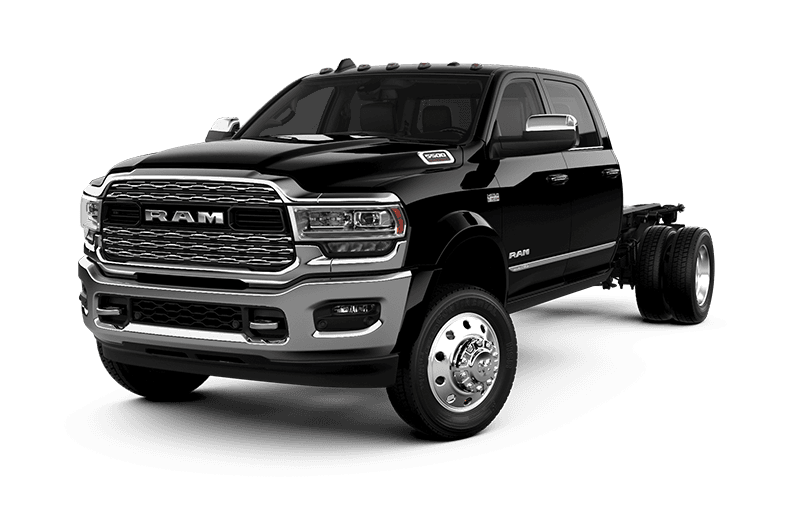 2021 Ram Chassis Cab 5500 Limited - Diamond Black Crystal Pearl