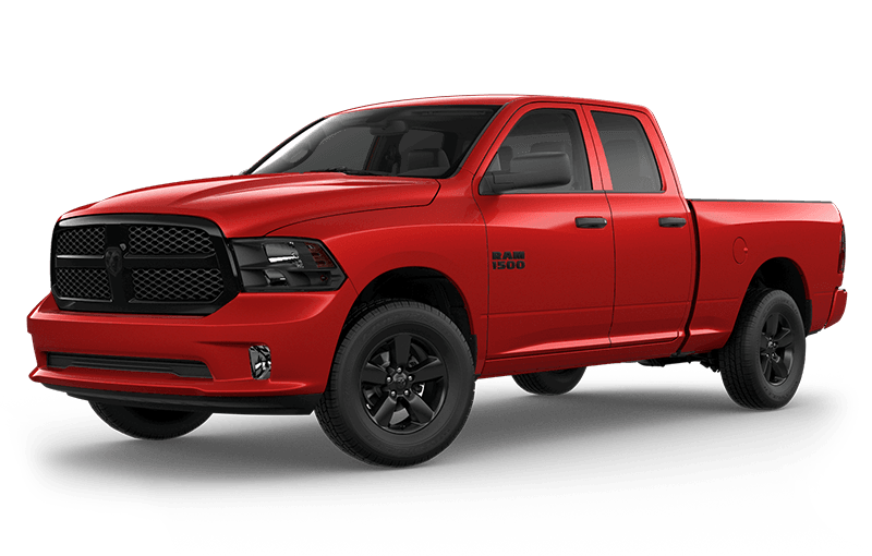 2021 Ram 1500 Classic Night Edition - Flame Red