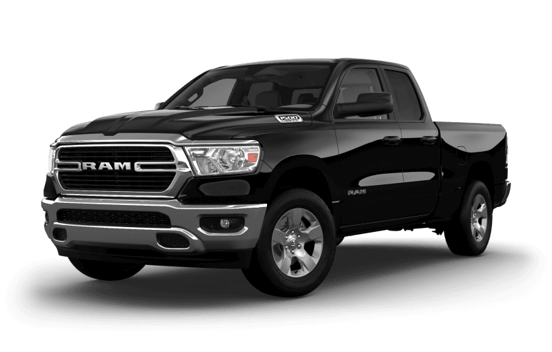 2021 Ram 1500 Big Horn® - Diamond Black Crystal Pearl