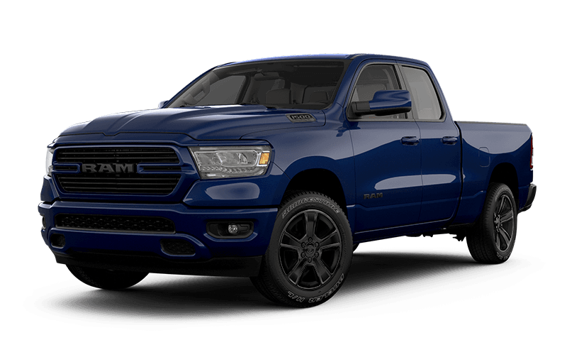 2021 Ram 1500 Sport -  Patriot Blue Pearl