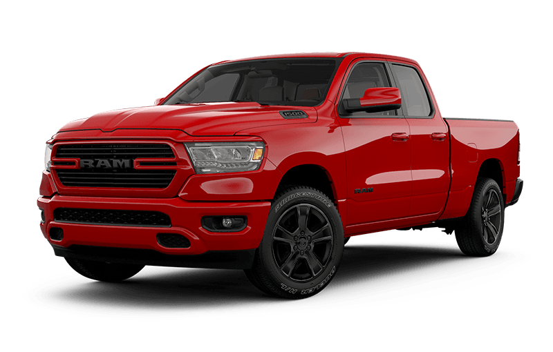 2021 Ram 1500 Sport - Flame Red
