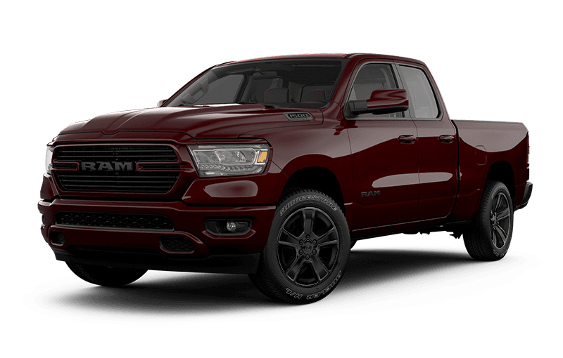 2021 Ram 1500 Sport - Red Pearl