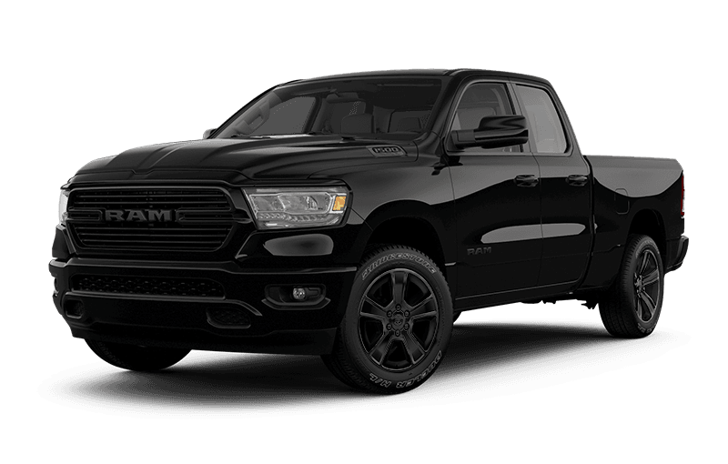 2021 Ram 1500 Sport - Diamond Black Crystal Pearl