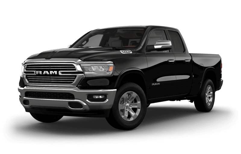2021 Ram 1500 Laramie® - Diamond Black Crystal Pearl